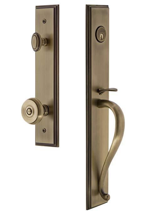 An image of Grandeur 844799 Brass Lever Lockset Door Lock | Door Lock Guide