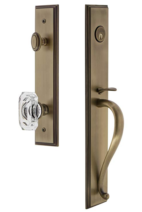 An image related to Grandeur 844619 Brass Lever Lockset Lock