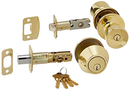 An image related to Schlage JCT60V BYR 605 Entry Brass Lever Lockset Lock