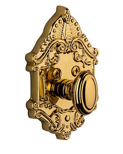 An image of Grandeur GVC-60-LB-KD House Brass Door Lock