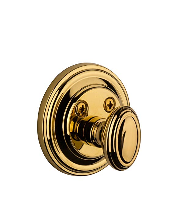 An image of Grandeur GEO-60-LB-KD House Brass Door Lock
