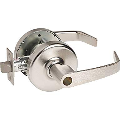 An image of Corbin Russwin CL3551-NZD-626-LC Entry Satin Chrome Lever Lockset Lock