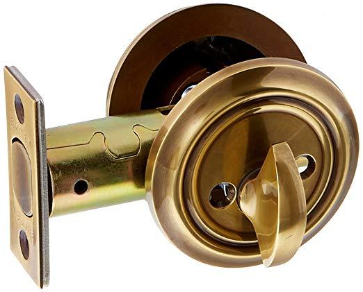 An image of Emtek 8455US7 Brass Lock | Door Lock Guide