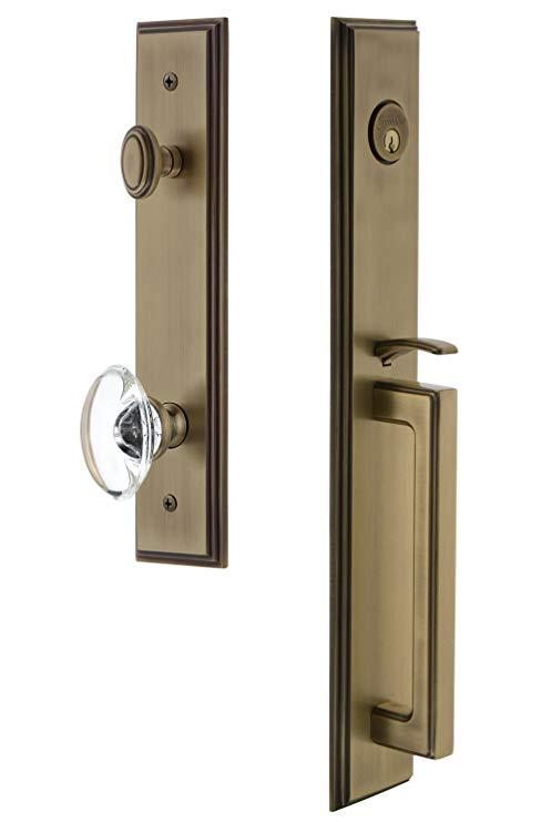 An image related to Grandeur 845379 Brass Lever Lockset Door Lock