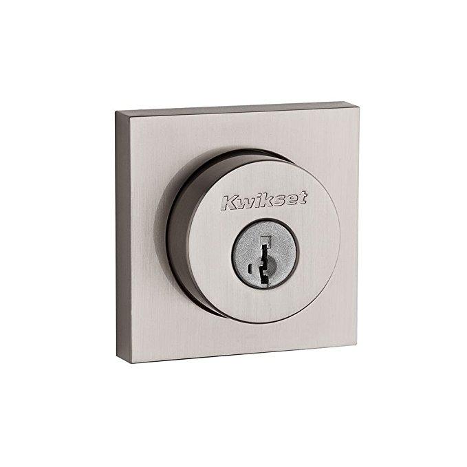 An image of Kwikset 91580-001 Satin Nickel Lock