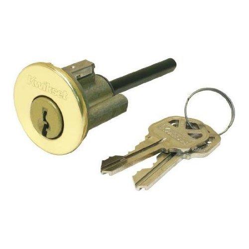 An image of Kwikset 15843-3 Brass Lock | Door Lock Guide