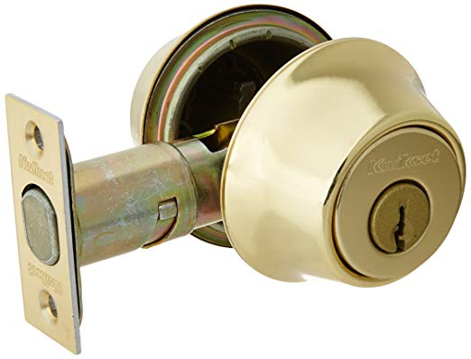 An image related to Kwikset 96650-008 Polished Brass Lock