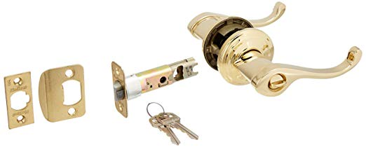 An image related to Kwikset 740CHL-L03 Entry Polished Brass Lock