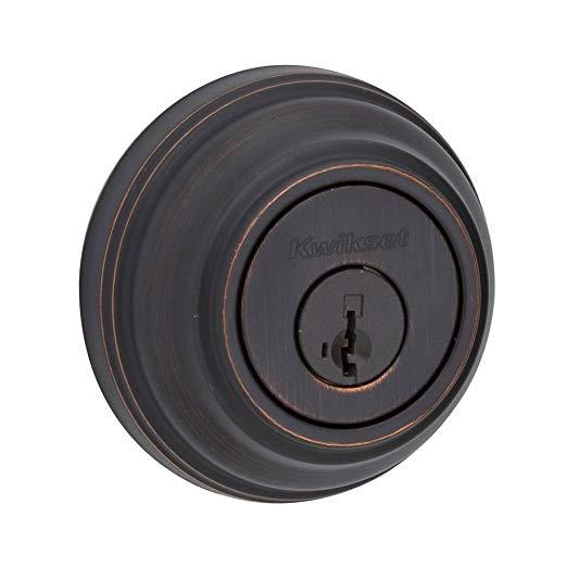 An image of Kwikset 99850-057 Venetian Bronze Lock | Door Lock Guide
