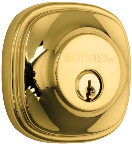 An image related to BRINKS 23063-105 Polished Brass Lever Lockset Door Lock
