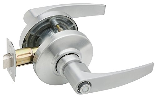 An image related to Schlage AL40S JUP 626 Privacy Satin Chrome Lock