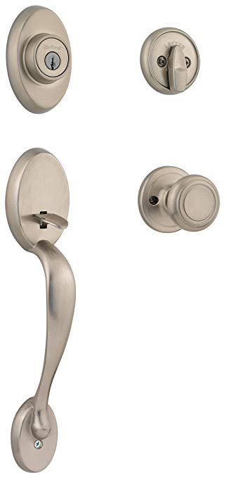 An image related to Kwikset 98001-124 Satin Nickel Lock