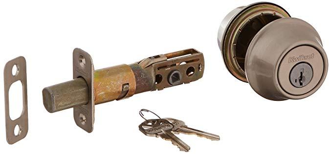An image of Kwikset 665-15S Satin Nickel Lock