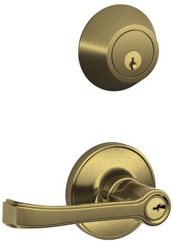 An image related to Schlage JC60V TOR 609 Entry Brass Lever Lockset Lock