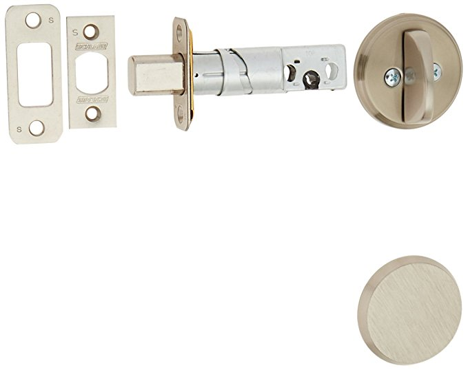 An image related to Schlage B81619 Satin Nickel Lock