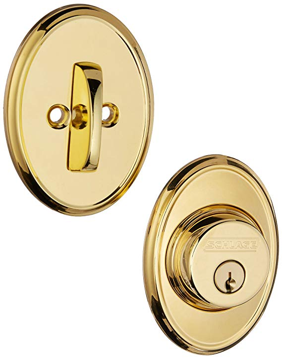 An image related to Schlage B60WKF505 Polished Brass Lock