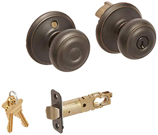 An image related to Schlage F80GEO716 Storeroom Aged Bronze Lock