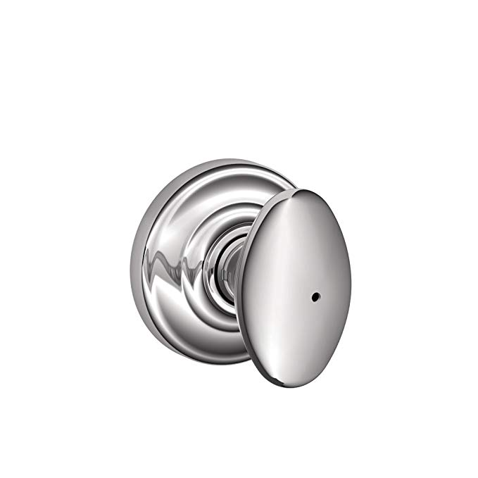 An image related to Schlage FA40DNB625/F40SIE625AND Privacy Polished Chrome Lock