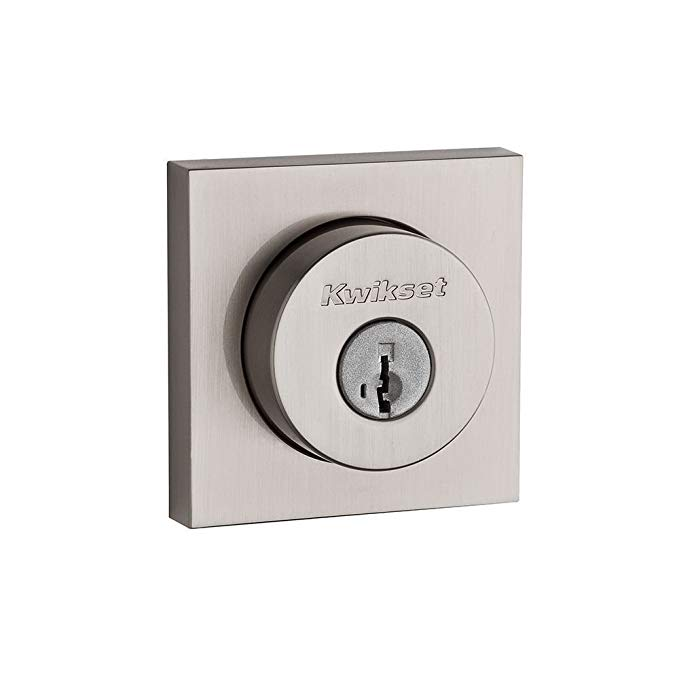 An image of Kwikset 91590-001 Satin Nickel Lock | Door Lock Guide