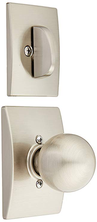 An image of Schlage F59ORB619CEN Satin Nickel Lock | Door Lock Guide