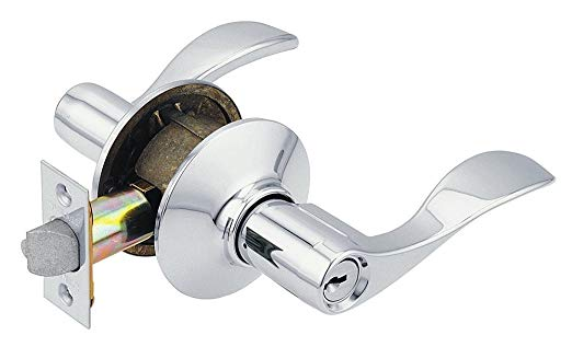 An image related to Schlage F51ACC625 Entry Polished Chrome Lock