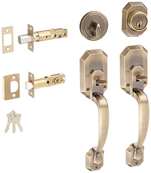 An image related to Constructor CON-CER-AB Entry Bronze Lever Lockset Lock