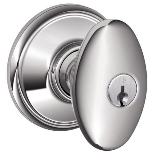 An image related to Schlage F51ASIE625 Entry Chrome Effect Lock