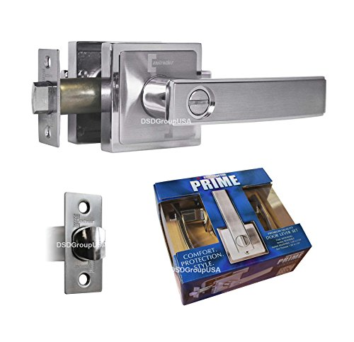 An image related to Constructor CON-PRI-BK Privacy Satin Nickel Lever Lockset Lock