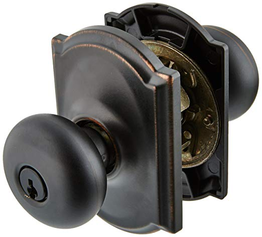 An image related to Schlage F51APLY716CAM Entry Aged Bronze Lock