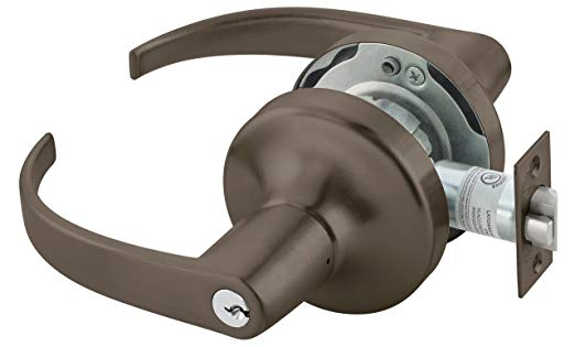 An image of Yale PB4705LNX613E Lever Lockset Cylindrical Lock | Door Lock Guide