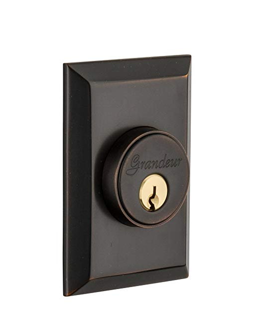 An image of Grandeur FAV-62-TB-KD House Bronze Door Lock