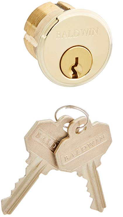 An image related to Baldwin 8322003 Brass Lock