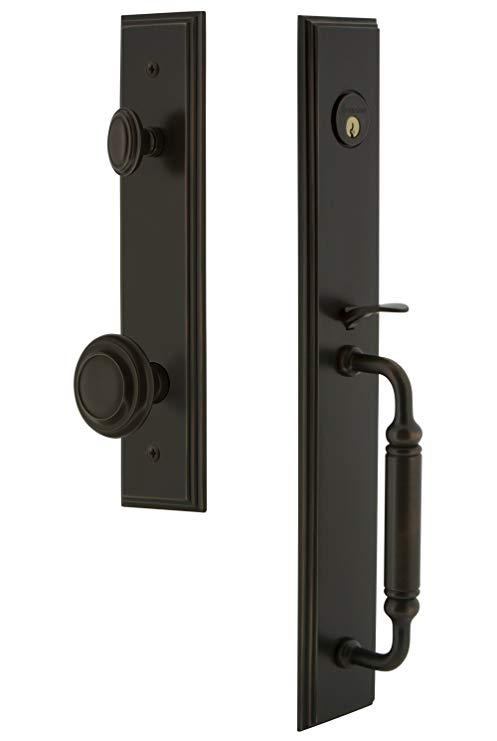 An image of Grandeur 842290 Bronze Lever Lockset Lock | Door Lock Guide