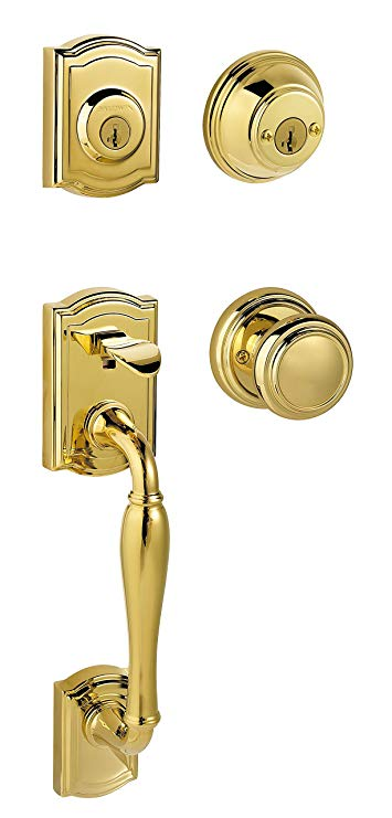 An image related to Baldwin 91800-033 Brass Polished Door Lock
