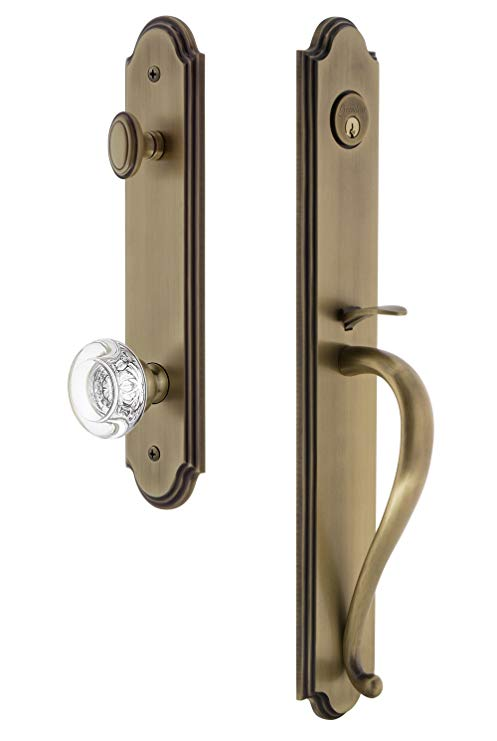 An image of Grandeur 843650 Brass Lever Lockset Lock | Door Lock Guide