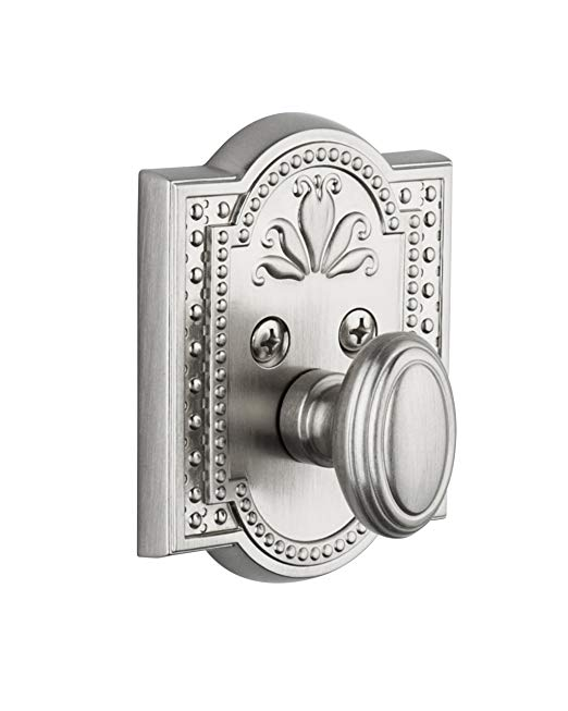 An image of Grandeur PAR-60-SN-KD House Satin Nickel Lock