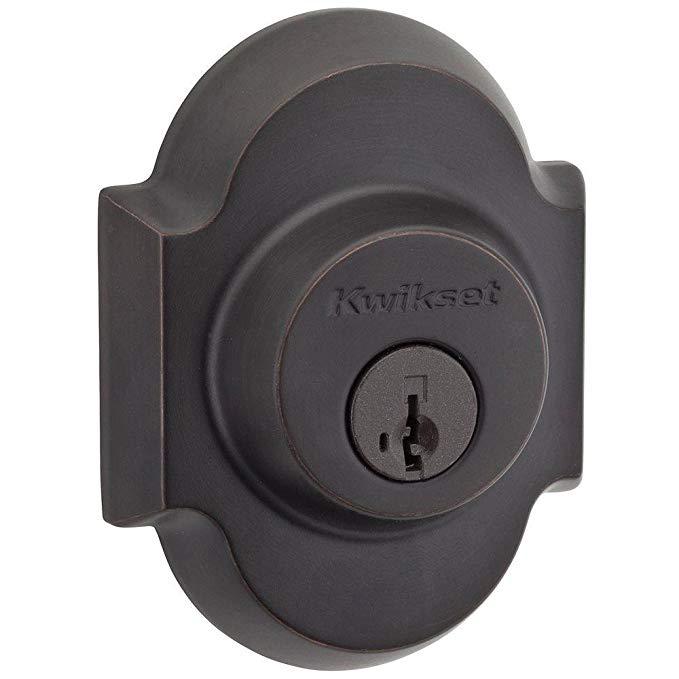 An image related to Kwikset 99850-069 Entry Venetian Bronze Lock