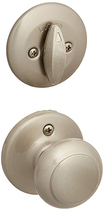 An image of Kwikset 96040-123 Satin Nickel Lock