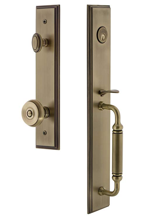 An image of Grandeur 842238 Brass Lever Lockset Lock | Door Lock Guide