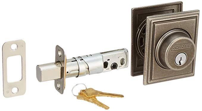 An image of Schlage B60ADD621 Nickel Lock | Door Lock Guide