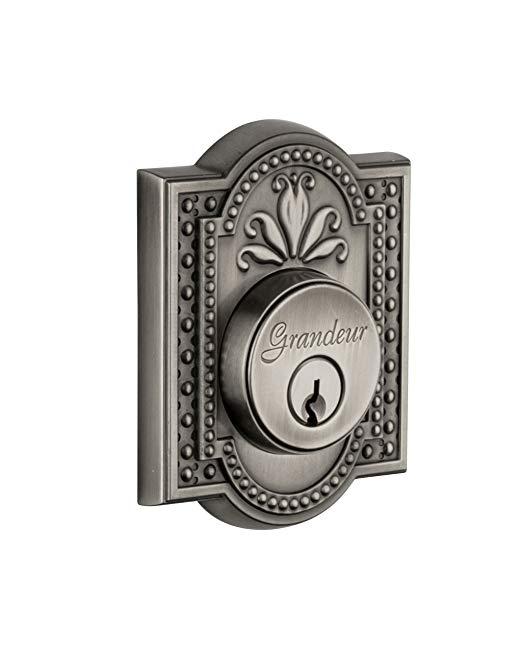 An image related to Grandeur PAR-62-AP-KD House Pewter Door Lock