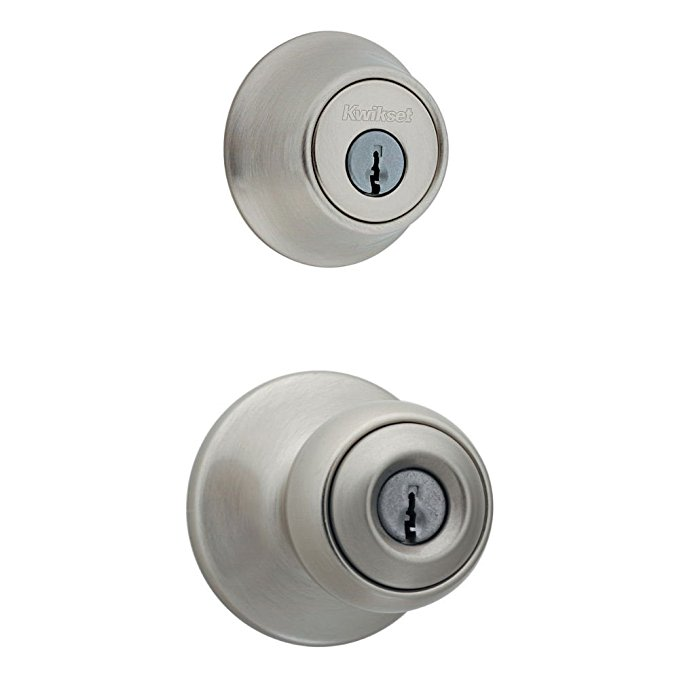 An image related to Kwikset 96900-320 Entry Metal Satin Nickel Lock