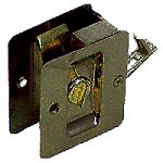 An image related to Kwikset 93330-002 Privacy Satin Chrome Lock