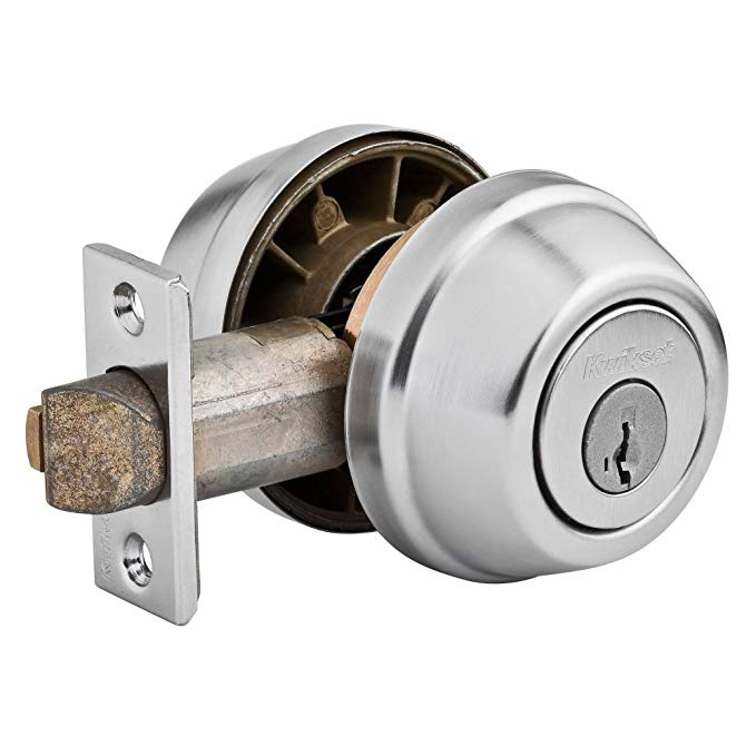 An image related to Kwikset 95990-006 House Satin Chrome Lock