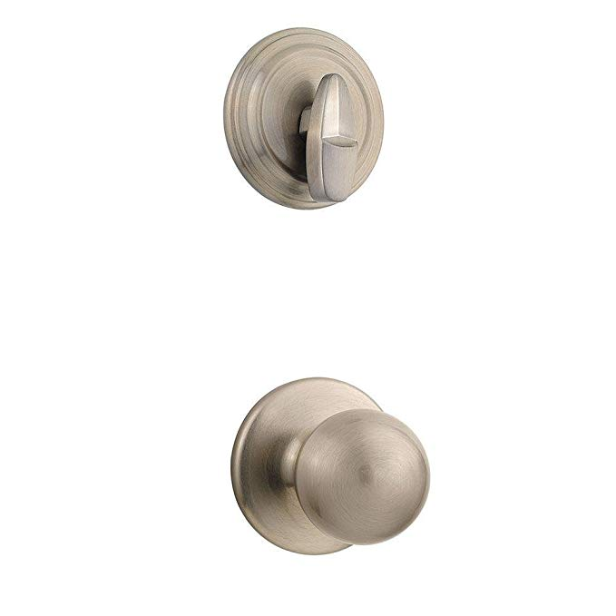 An image related to Kwikset 96040-117 Satin Nickel Lock
