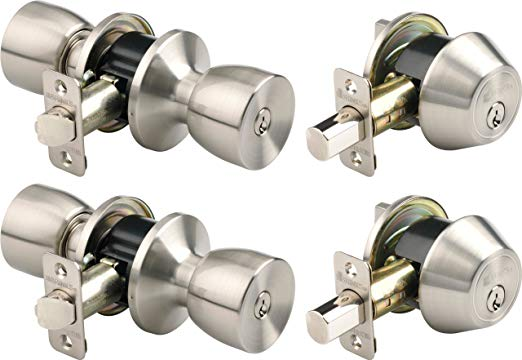 An image related to BRINKS 2798-119 Metal Satin Nickel Lock