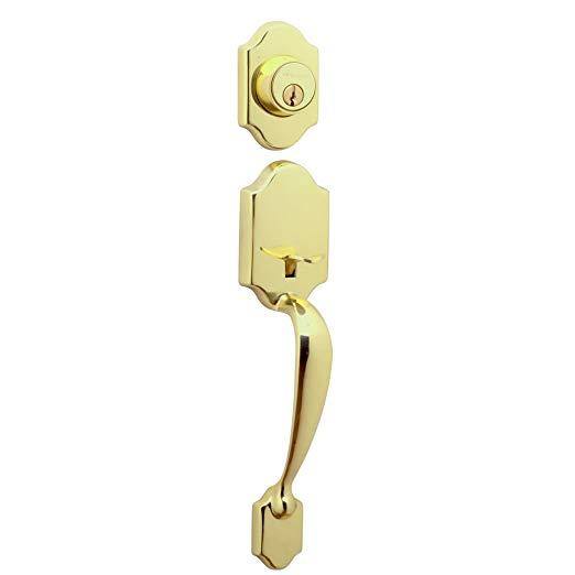 An image of Schlage JH58PRS605 Brass Lock | Door Lock Guide
