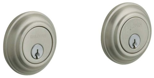 An image related to Baldwin 8232.15 Satin Nickel Lock