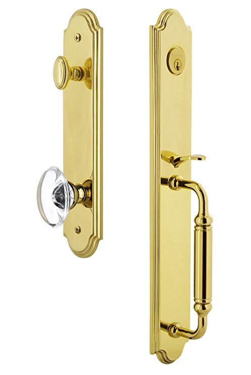 An image of Grandeur 842065 Brass Lever Lockset Lock | Door Lock Guide
