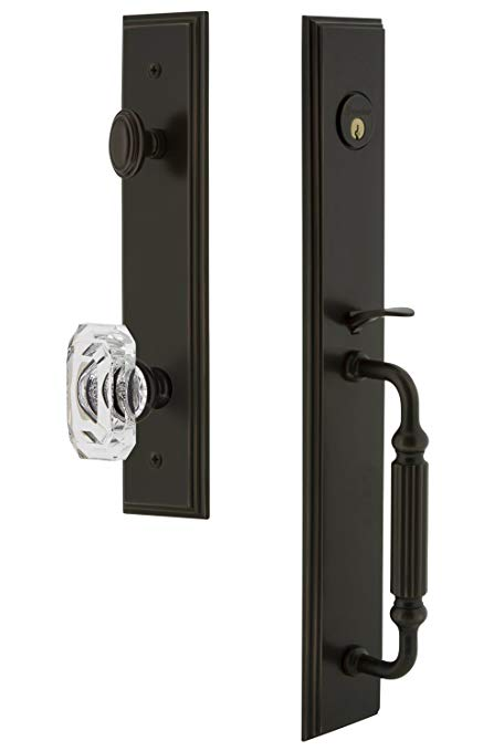 An image related to Grandeur 844603 Bronze Lever Lockset Lock